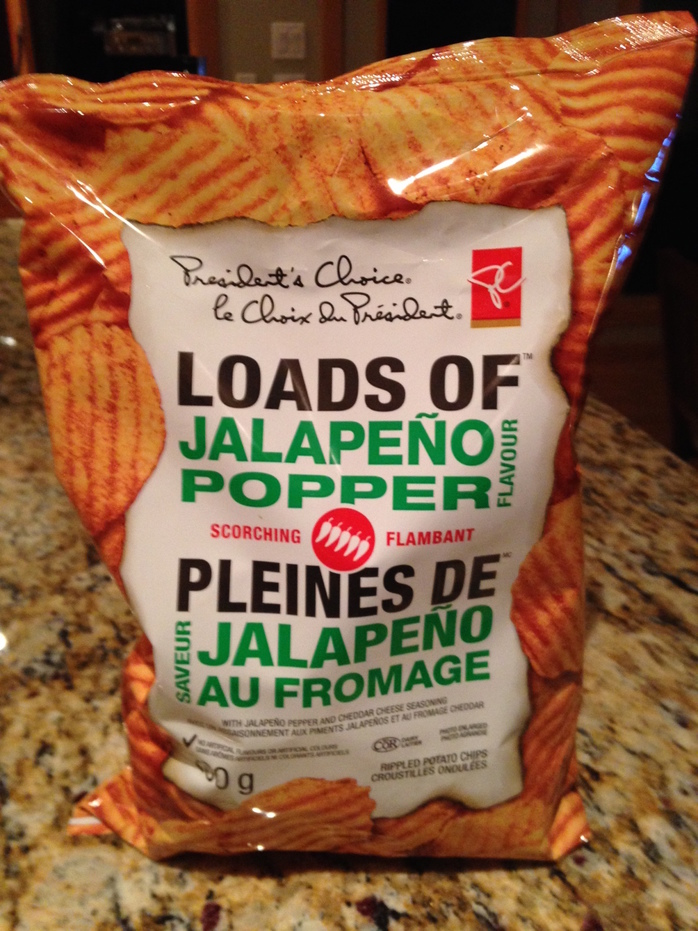 President's Choice Jalapeño Popper Chips