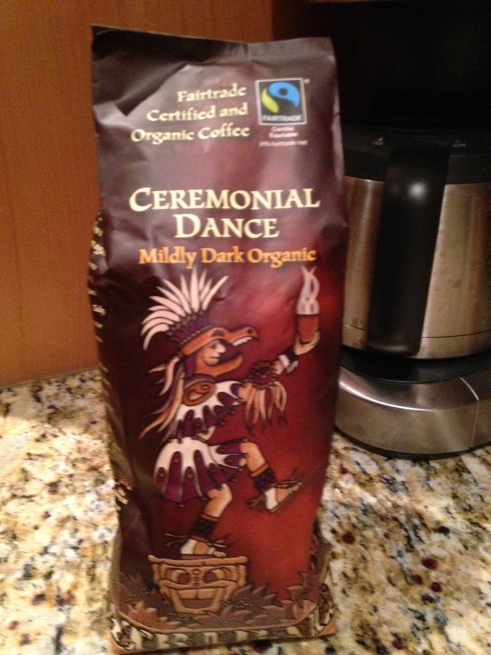 Tribal Coffee Ceremonial Dance Mildly Dark Roast 1lbs Bag